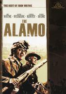 The Alamo - DVD cover (xs thumbnail)