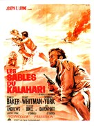 Sands of the Kalahari - French Movie Poster (xs thumbnail)