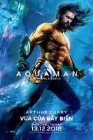 Aquaman - Vietnamese Movie Poster (xs thumbnail)