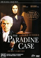 The Paradine Case - Australian DVD cover (xs thumbnail)