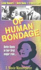 Of Human Bondage - VHS cover (xs thumbnail)