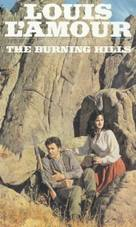 The Burning Hills - VHS cover (xs thumbnail)