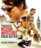 Mission: Impossible - Rogue Nation - Blu-Ray movie cover (xs thumbnail)