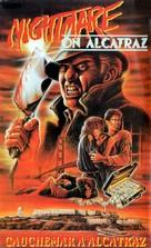 Terror on Alcatraz - French VHS movie cover (xs thumbnail)