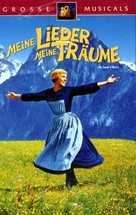 The Sound of Music - German VHS movie cover (xs thumbnail)