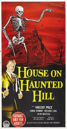 House on Haunted Hill - Australian Movie Poster (xs thumbnail)