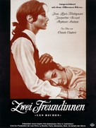 Les biches - German Movie Poster (xs thumbnail)
