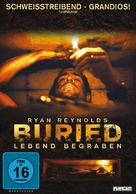 Buried - German DVD movie cover (xs thumbnail)