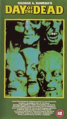 Day of the Dead - British VHS movie cover (xs thumbnail)