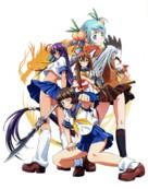 """""""Ikki tôsen: Dragon destiny"""" - Japanese Key art (xs thumbnail)"""