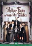 Addams Family Values - German Movie Cover (xs thumbnail)