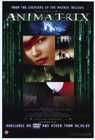 The Animatrix - British Video release poster (xs thumbnail)