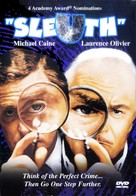 Sleuth - DVD movie cover (xs thumbnail)