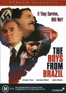 The Boys from Brazil - Australian DVD cover (xs thumbnail)