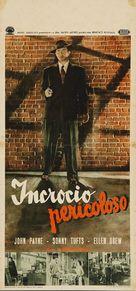 The Crooked Way - Italian Movie Poster (xs thumbnail)