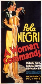 A Woman Commands - Movie Poster (xs thumbnail)