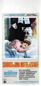 Sommarnattens leende - Italian Movie Poster (xs thumbnail)