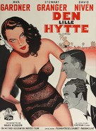 The Little Hut - Danish Movie Poster (xs thumbnail)