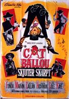 Cat Ballou - Swedish Movie Poster (xs thumbnail)
