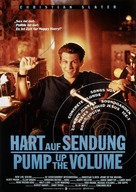 Pump Up The Volume - Swiss Movie Poster (xs thumbnail)