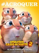 The Nut Job 2 - French Movie Poster (xs thumbnail)