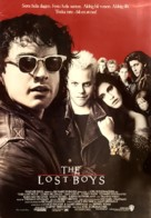 The Lost Boys - Swedish Movie Poster (xs thumbnail)