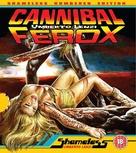 Cannibal ferox - British Blu-Ray movie cover (xs thumbnail)