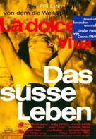 La dolce vita - German Movie Poster (xs thumbnail)