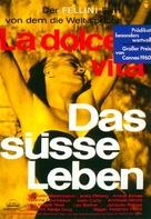 La dolce vita - German Movie Poster (xs thumbnail)