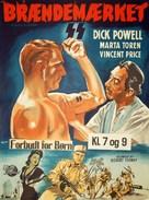 Rogues' Regiment - Danish Movie Poster (xs thumbnail)