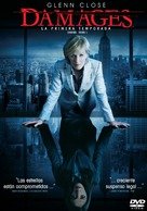 """""""Damages"""" - Spanish Movie Cover (xs thumbnail)"""