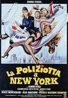 La poliziotta a New York - Italian Movie Poster (xs thumbnail)