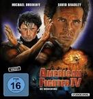 American Ninja 4: The Annihilation - German Movie Cover (xs thumbnail)