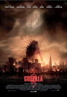 Godzilla - Greek Movie Poster (xs thumbnail)