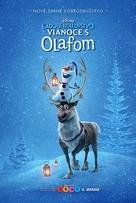 Olaf's Frozen Adventure - Slovak Movie Poster (xs thumbnail)