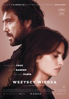 Todos lo saben - Polish Movie Poster (xs thumbnail)