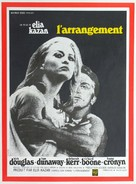 The Arrangement - French Movie Poster (xs thumbnail)