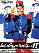 Dégourdis de la 11ème, Les - French Movie Poster (xs thumbnail)