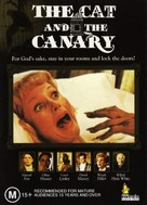 The Cat and the Canary - Australian DVD cover (xs thumbnail)