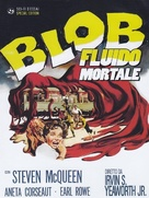 The Blob - Italian DVD movie cover (xs thumbnail)