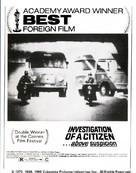 Indagine su un cittadino al di sopra di ogni sospetto - Movie Poster (xs thumbnail)