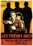 The Brothers Rico - French Movie Poster (xs thumbnail)