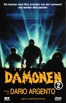 Demoni - Austrian DVD cover (xs thumbnail)