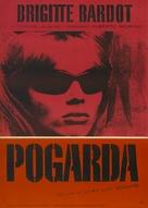 Le mépris - Polish Theatrical movie poster (xs thumbnail)