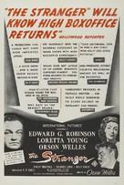 The Stranger - Theatrical poster (xs thumbnail)