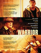 Warrior - For your consideration movie poster (xs thumbnail)