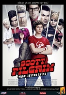 Scott Pilgrim vs. the World - Czech Movie Poster (xs thumbnail)