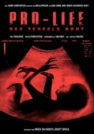 """""""Masters of Horror"""" Pro-Life - German DVD movie cover (xs thumbnail)"""