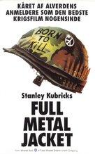 Full Metal Jacket - Danish VHS cover (xs thumbnail)