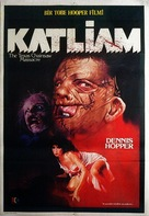 The Texas Chainsaw Massacre 2 - Turkish Movie Poster (xs thumbnail)